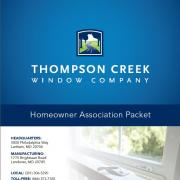 Thompson Creek Homeowner Association Packet